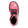 Sznurowane buty dziewczęce w gwiazdki mini-b, różowy, 291-5167 - 15