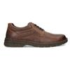 Brązowe nieformalne półbuty ze skóry bata, brązowy, 826-4918 - 19