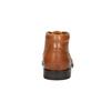 Skórzane buty męskie zefektem ombré bata, brązowy, 826-3913 - 17