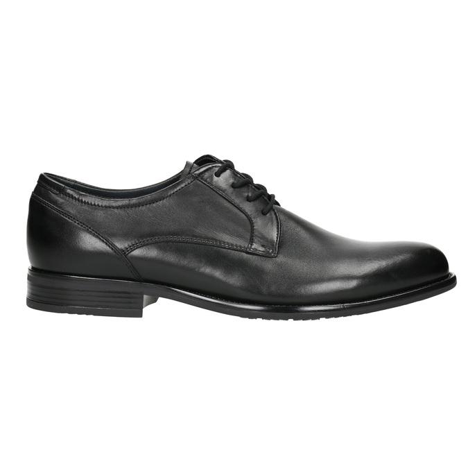 Półbuty męskie typu angielki bata, czarny, 824-6618 - 15