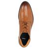 Skórzane buty męskie zefektem ombré bata, brązowy, 826-3913 - 26