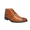 Skórzane buty męskie zefektem ombré bata, brązowy, 826-3913 - 13