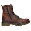 Botki damskie zzamkami błyskawicznymi bata, brązowy, 596-3681 - 26