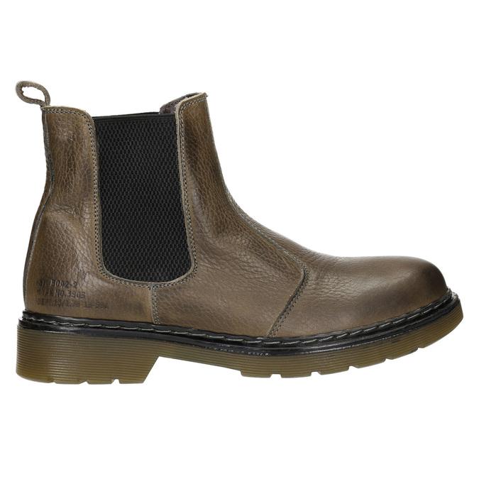 Skórzane botki damskie typu chelsea bata, brązowy, 596-7680 - 26