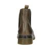 Skórzane botki damskie typu chelsea bata, brązowy, 596-7680 - 16