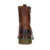 Botki damskie zzamkami błyskawicznymi bata, brązowy, 596-3681 - 16