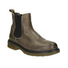 Skórzane botki damskie typu chelsea bata, brązowy, 596-7680 - 13
