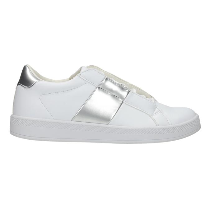 Damskie białe trampki atletico, biały, 501-1171 - 26
