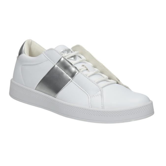 Damskie białe trampki atletico, biały, 501-1171 - 13