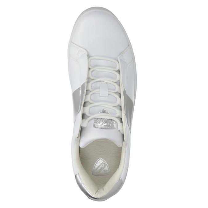 Damskie białe trampki atletico, biały, 501-1171 - 15