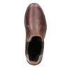 Skórzane obuwie damskie typu chelsea bata, brązowy, 596-3680 - 15