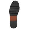 Skórzane buty damskie typu chelsea bata, czarny, 596-6657 - 19
