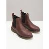 Skórzane obuwie damskie typu chelsea bata, brązowy, 596-3680 - 18