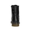 Skórzane botki damskie bata, czarny, 594-6681 - 16