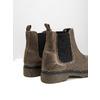 Skórzane botki damskie typu chelsea bata, brązowy, 596-7680 - 14