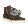 Skórzane obuwie za kostkę weinbrenner, brązowy, 596-4674 - 13