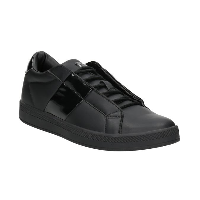 Czarne trampki damskie atletico, czarny, 501-6171 - 13