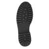 Skórzane obuwie za kostkę bata, brązowy, 896-3663 - 19