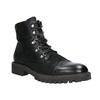 Buty męskie za kostkę bata, czarny, 896-6664 - 13