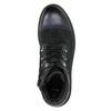 Buty męskie za kostkę bata, czarny, 896-6664 - 26