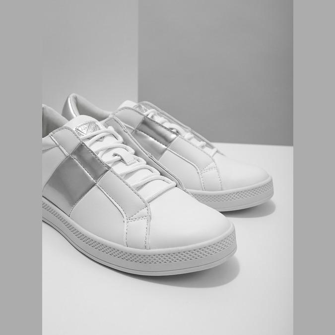 Damskie białe trampki atletico, biały, 501-1171 - 14