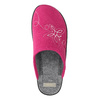 Różowe kapcie damskie bata, różowy, 579-5621 - 26
