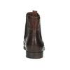 Skórzane obuwie typu chelsea ze ornamentami brogue bata, brązowy, 596-4683 - 16