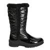 Zimowe buty dziecięce zfuterkiem mini-b, czarny, 399-6655 - 15