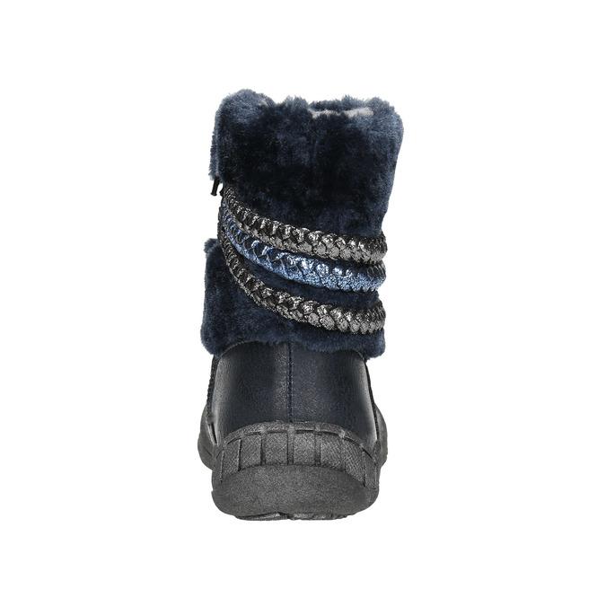 Zimowe buty dziecięce zociepliną bubblegummer, niebieski, 191-9620 - 17