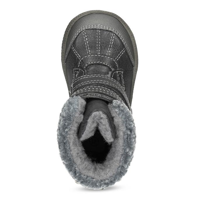Zimowe buty dziecięce zociepliną bubblegummer, szary, 191-4619 - 17