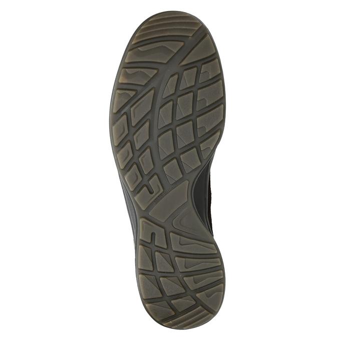 Skórzane obuwie męskie weinbrenner, brązowy, 846-4647 - 17