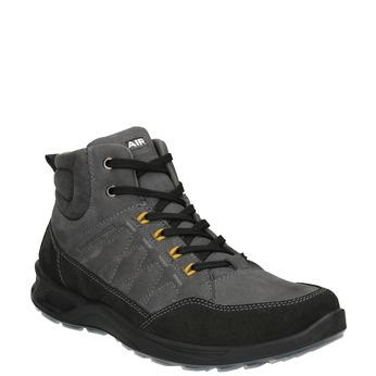 Turystyczne buty męskie skórzane weinbrenner, szary, 846-2647 - 13