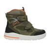 Zimowe buty dziecięce ze skóry weinbrenner-junior, zielony, 493-7612 - 26