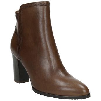 Skórzane botki bata, brązowy, 794-4650 - 13