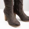 Kozaki damskie zmarszczeniami bata, brązowy, 799-4614 - 14