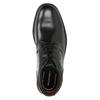 Skórzane obuwie za kostkę rockport, czarny, 894-6036 - 15
