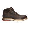 Skórzane zimowe buty męskie bata, brązowy, 896-4676 - 15