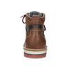 Zimowe obuwie męskie za kostkę bata, brązowy, 896-3677 - 15
