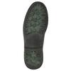 Skórzane obuwie za kostkę bata, szary, 896-2686 - 19