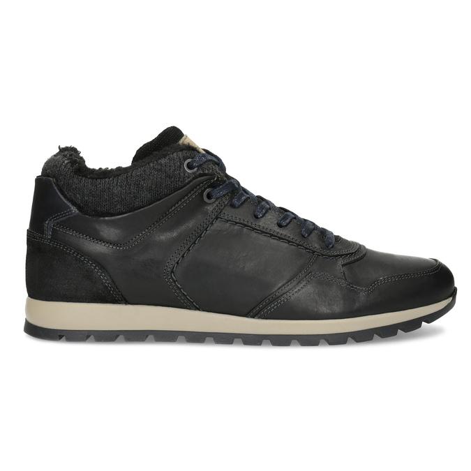 Zimowe trampki męskie bata, czarny, 846-6646 - 19