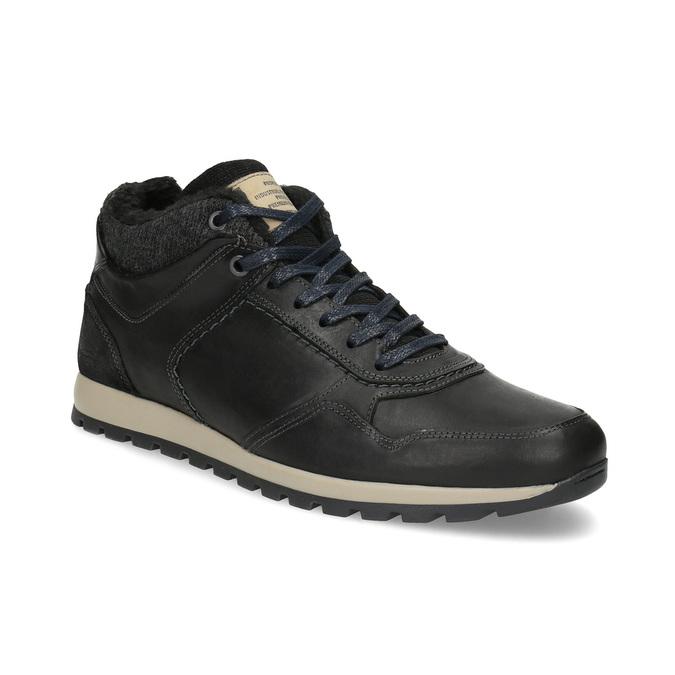 Zimowe trampki męskie bata, czarny, 846-6646 - 13