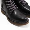 Skórzane botki damskie bata, czarny, 594-6681 - 14