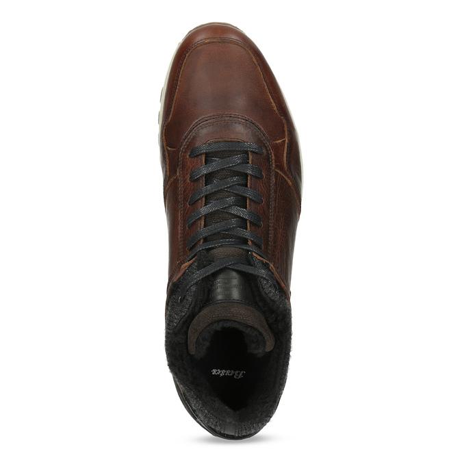 Zimowe obuwie ze skóry bata, brązowy, 846-4646 - 17