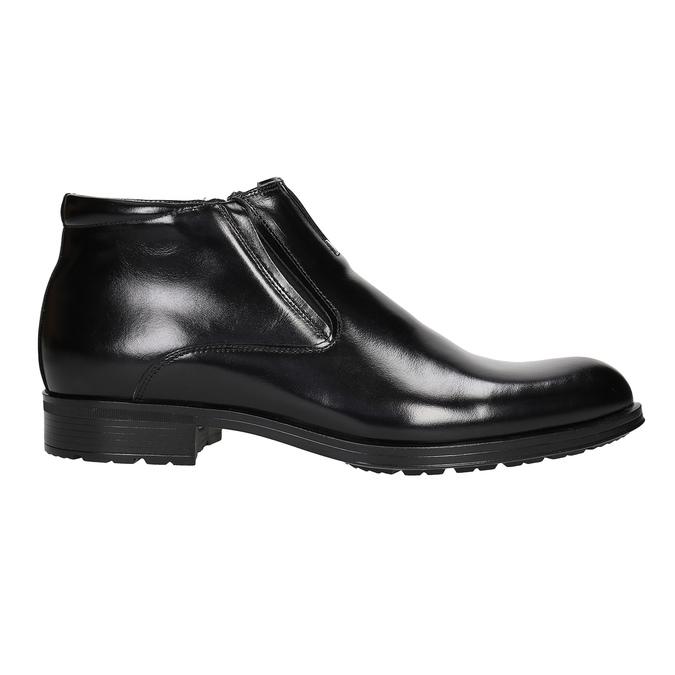 Ocieplane buty męskie za kostkę conhpol, czarny, 894-6698 - 26