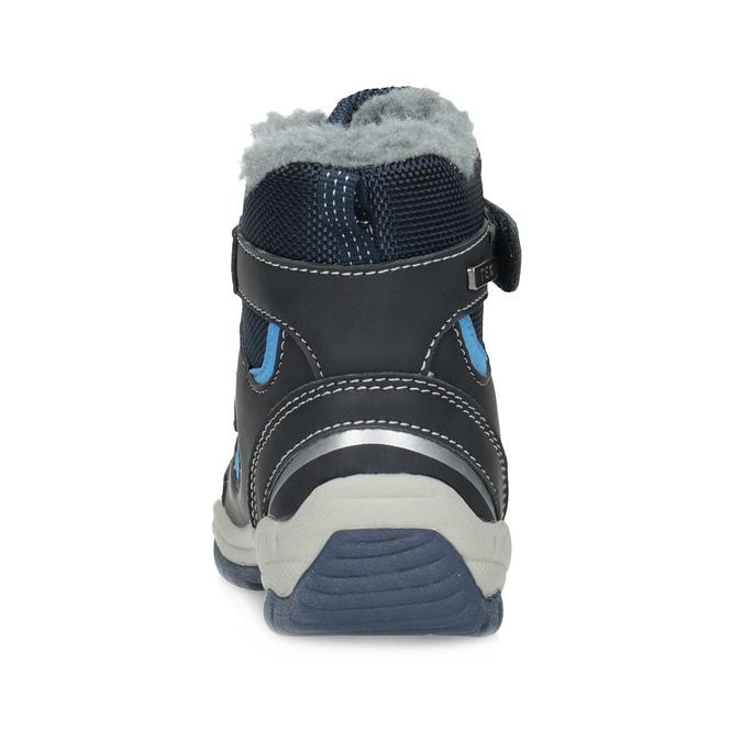 Zimowe buty dziecięce zfuterkiem bubblegummer, niebieski, 199-9602 - 15