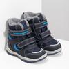 Zimowe buty dziecięce zfuterkiem bubblegummer, niebieski, 199-9602 - 26