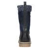 Zimowe buty dziewczęce zdzianiną mini-b, niebieski, 391-9657 - 17