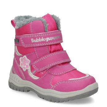Różowe śniegowce dziecięce bubblegummer, różowy, 199-5602 - 13