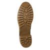 Buty za kostkę z kożuszkiem bata, brązowy, 691-2633 - 19