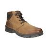 Skórzane zimowe buty męskie bata, brązowy, 896-3681 - 13